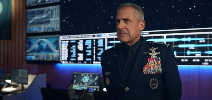 Новый тизер сериала Space Force со Стивом Кареллом