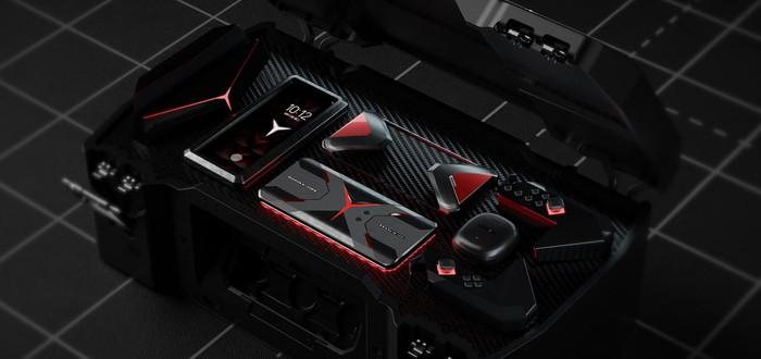 Утечка: Lenovo готовит игровой смартфон с селфи-камерой сбоку