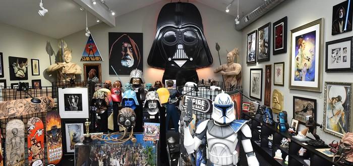 Самая большая коллекция Star Wars: от Коррелианского корвета до костюма Дарта Вейдера