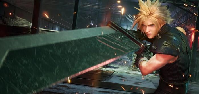 Final Fantasy VII Remake и GTA V — самые скачиваемые игры апреля в PS Store
