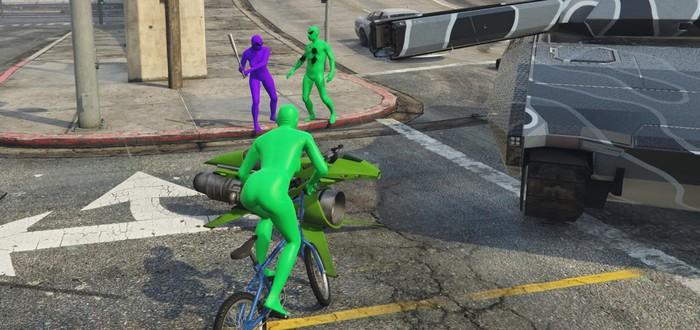 Костюмы инопланетян в GTA Online стали бесплатными