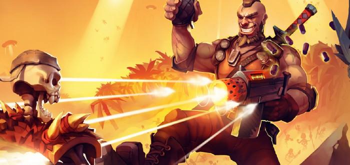 Уничтожение десятков врагов в релизном трейлере платформера Fury Unleashed