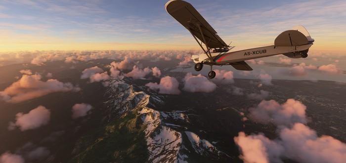 Сравнение скриншотов Microsoft Flight Simulator и настоящих фотографий