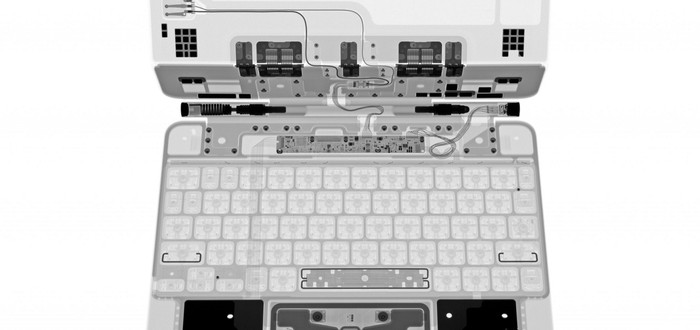 Специалисты iFixit показали Magic Keyboard при помощью рентгена