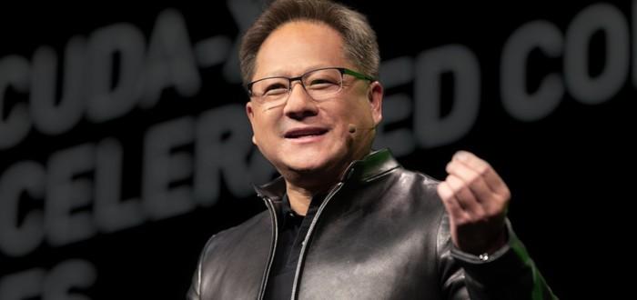 С пылу, с жару — глава Nvidia представил самую большую видеокарту в мире
