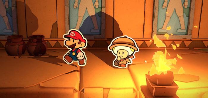 Nintendo внезапно анонсировала Paper Mario: The Origami King