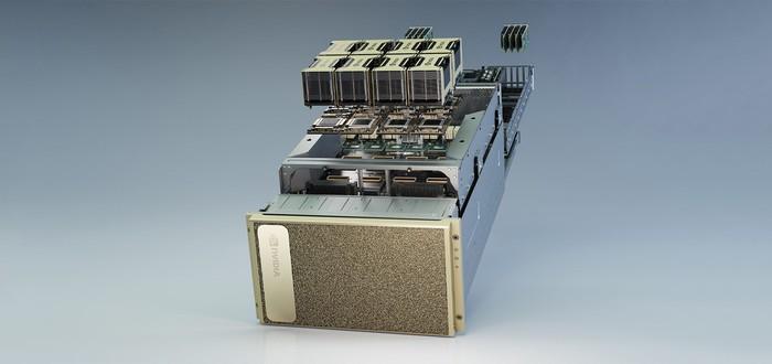 Первые детали Nvidia DGX A100 — архитектура Ampere и 5 петафлопс производительности за $200 тысяч