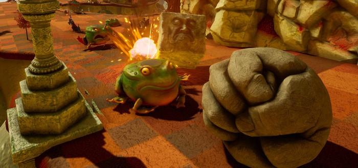 Релиз симулятора булыжника Rock of Ages 3: Make & Break отложили до конца июля