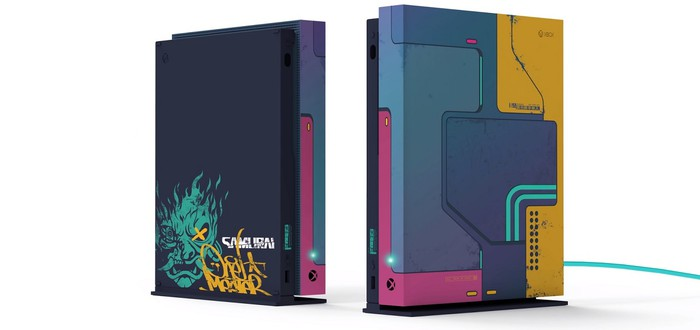 Разработчики Cyberpunk 2077 показали альтернативный дизайн Xbox One X