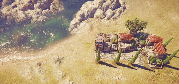 Строительство древнегреческого города в первом геймплее стратегии Pelagos: Rise of Greece