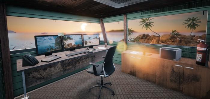 Трудовые будни пляжного спасателя в трейлере Lifeguard Simulator