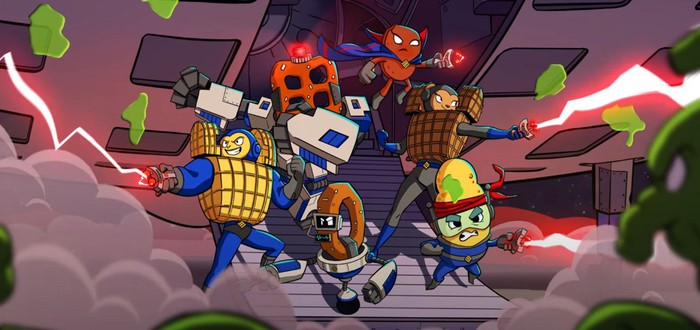 Орешки и крекеры против инопланетян — в Steam вышел бесплатный шутер Chex Quest HD