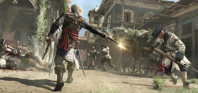 Новый геймплей Assassin's Creed 4 Black Flag