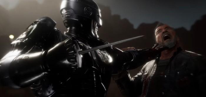 Робокоппротив Терминатора в новом трейлере Mortal Kombat 11: Aftermath