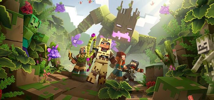Утекли скриншоты двух дополнений для Minecraft: Dungeons
