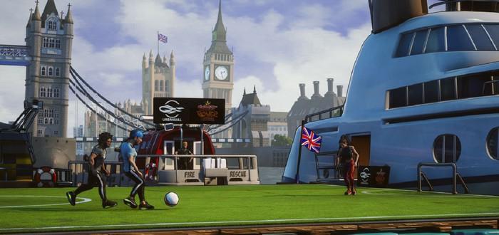 Красочный уличный футбол в первом трейлере Street Power Football