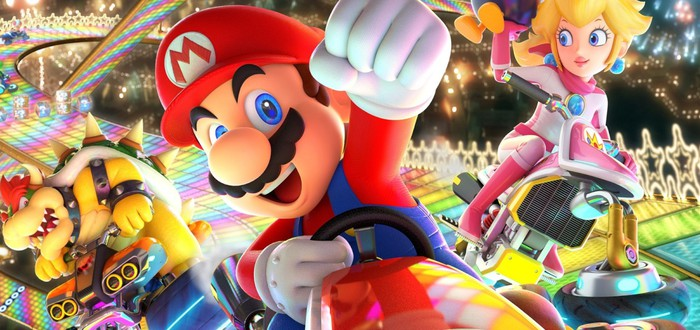UK-чарт: Mario Kart 8 Deluxe вырвалась на второе место