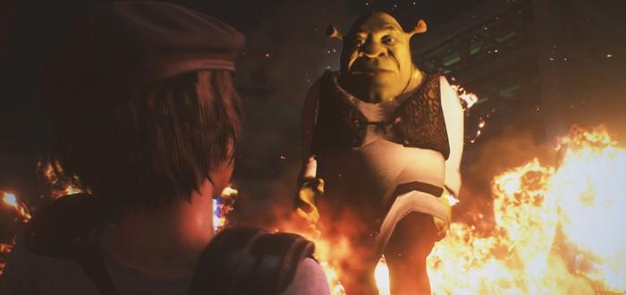 Немезиса в Resident Evil 3 Remake заменили на Шрека