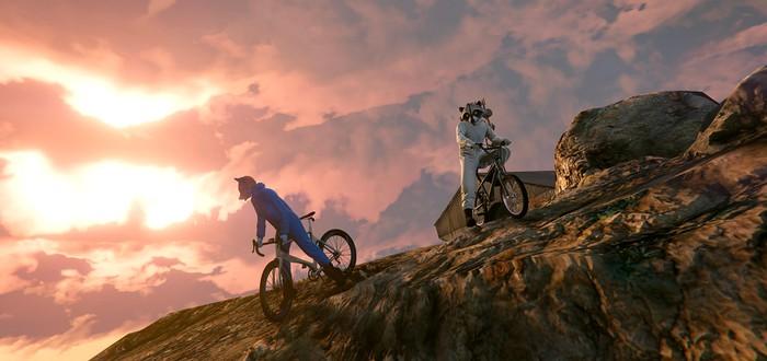 Для GTA 5 вышел мод, позволяющий кататься на настоящем велосипеде