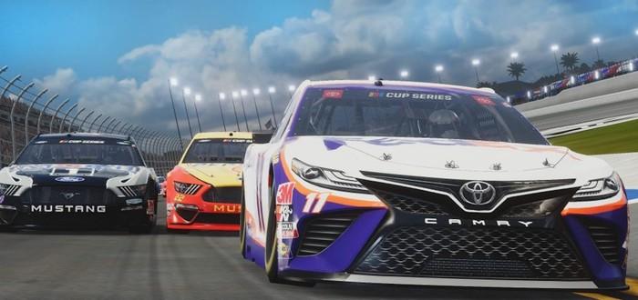 Короткий геймплейный ролик NASCAR Heat 5