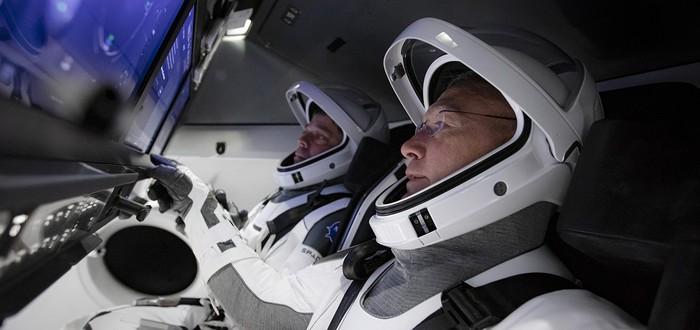 Прямой эфир запуска Falcon 9 с людьми на борту — вторая попытка в 22:22 (МСК)