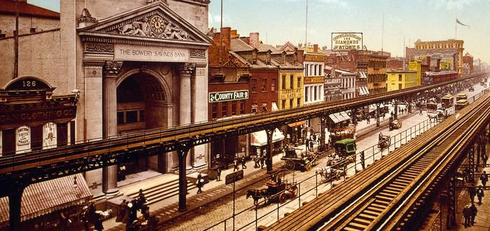Рождение и смерть надземной железной дороги Нью-Йорка — культовой черты города