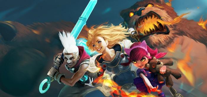 Первый геймплей League of Legends: Wild Rift для консолей и смартфонов