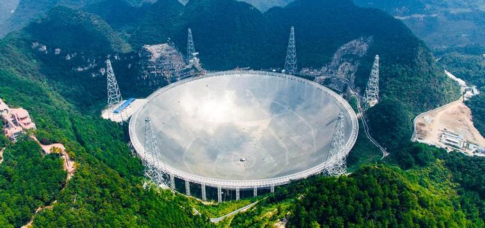 Гигантский китайский радиотелескоп начнет поиск инопланетных сигналов в сентябре