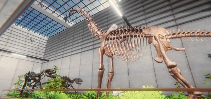 Воссоздание скелетов динозавров в первом трейлере симулятора палеонтолога Dinosaur Fossil Hunter
