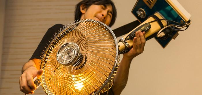 Японская музыкальная группа Electronicos Fantasticos делает инструменты из различной старой техники