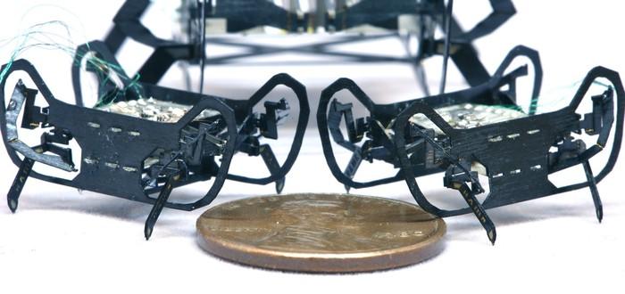 Гарвард представил робота размером с пенни