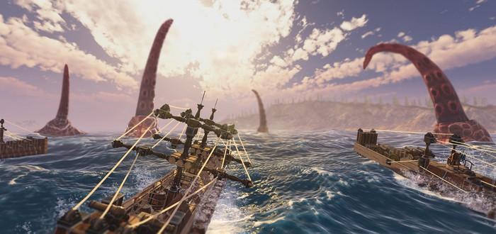 Анонсирована Sea of Craft — песочница в стиле Besiege с открытым океаном