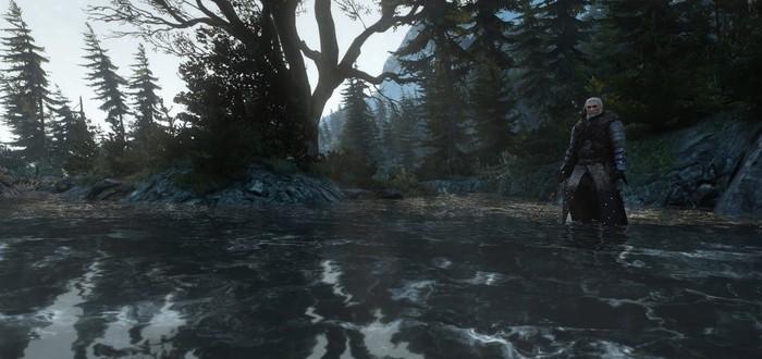 Сравнение текстур в новом ролике мода HD Reworked Project для The Witcher 3