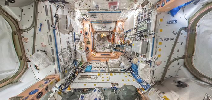 Международную космическую станцию можно посетить виртуально
