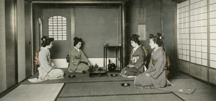 Жизнь в Японии 1920-ых годов — странная смесь запада и востока на исторических фотографиях