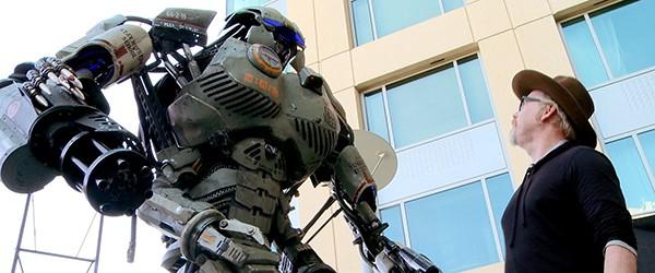 Реакция Адама Сэведжа на 200 килограммового робота