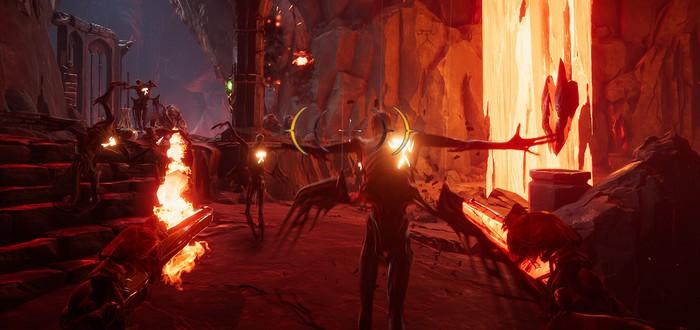 Анонсирован ритм-шутер Metal: Hellsinger — убивай демонов под бит