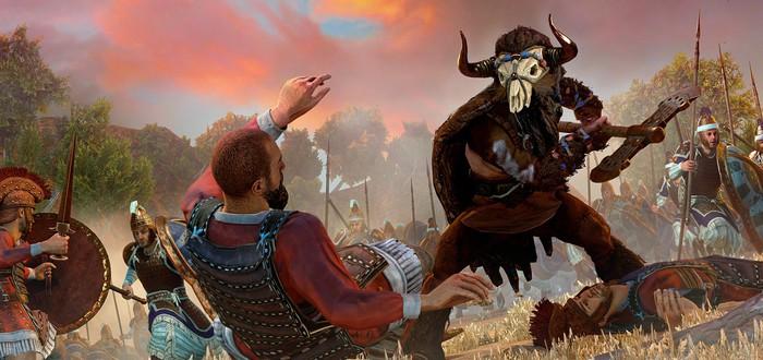 Геймплей Total War Saga: Troy с комментариями про мифических существ