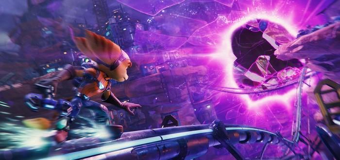 Красочные скриншоты и 4 минуты геймплея Ratchet & Clank Rift Apart