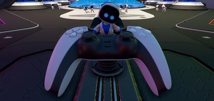 Astro's Playroom для PS5 познакомит игроков со всеми фишками DualSense