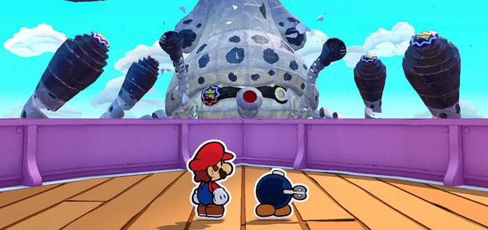 Большой обзорный трейлер Paper Mario: The Origami King
