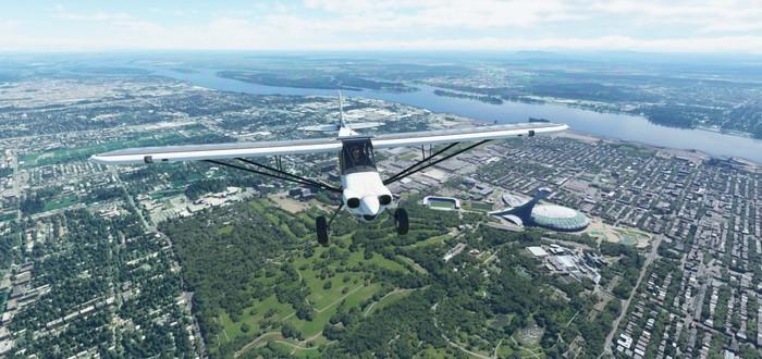 Очередная подборка завораживающих скриншотов Microsoft Flight Simulator