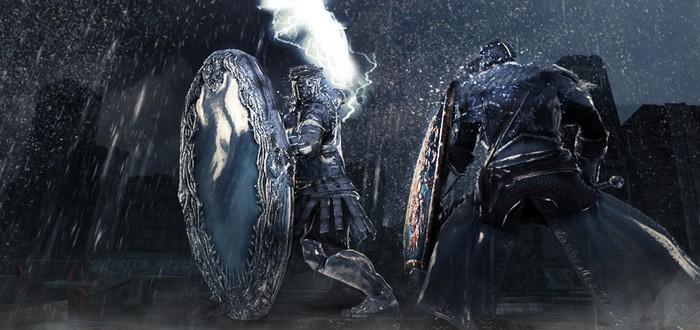 Dark Souls II: битва с боссом Mirror Knight