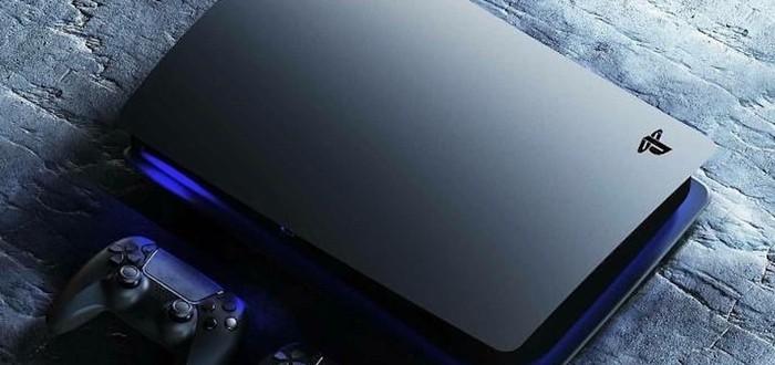 Игрок показал концепт PS5 в черном цвете