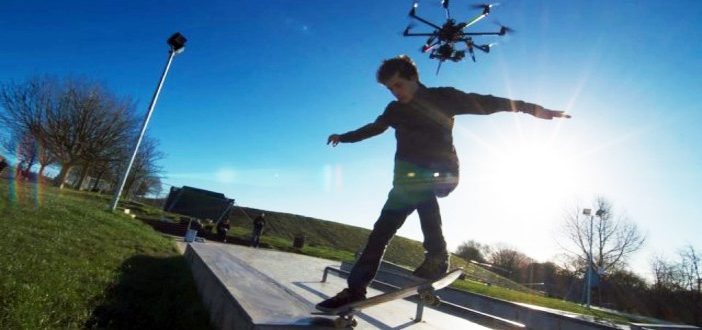 Dronestagram - социальная сеть для беспилотников