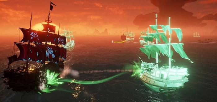 Обновление Haunted Shores уже доступно в Sea of Thieves