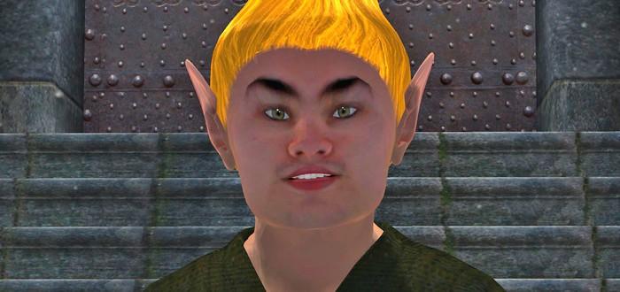 Косплеер напился и идеально сыграл роль Восторженного поклонника из Oblivion