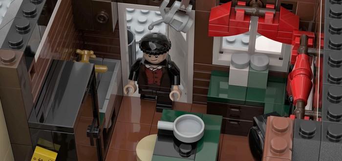 """LEGO выпустит набор с домом Кевина из """"Один дома"""""""