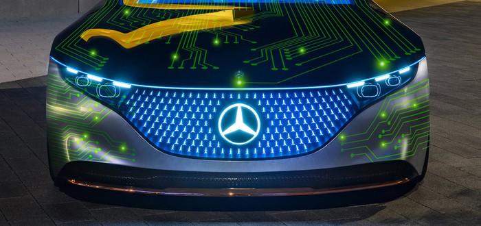 Mercedes и Nvidia создадут суперкомпьютеры для автомобилей