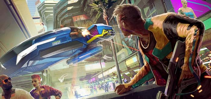 Новые скриншоты, постеры и концепт-арты Cyberpunk 2077